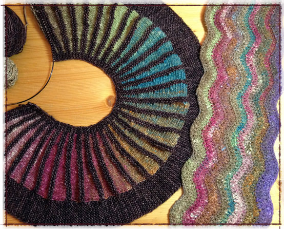 Spectra Scarf and Ripple Scarf