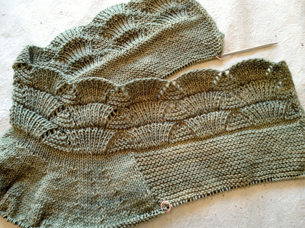 Nanook Sweater WIP